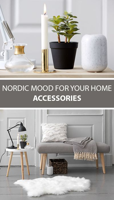 Add the nordic mood trend to your home with light and refreshing accessories vases