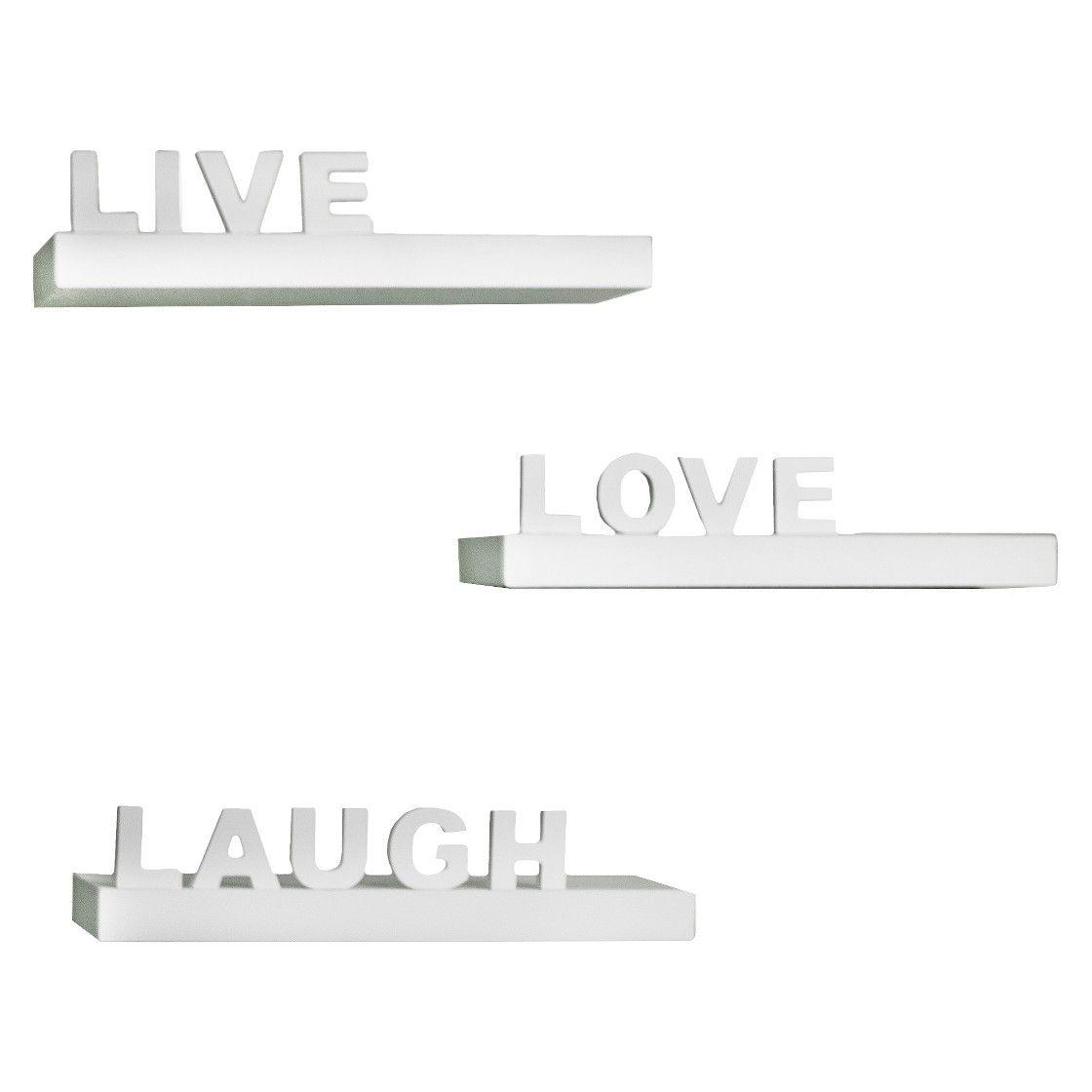 Live, Love, Laugh Shelves