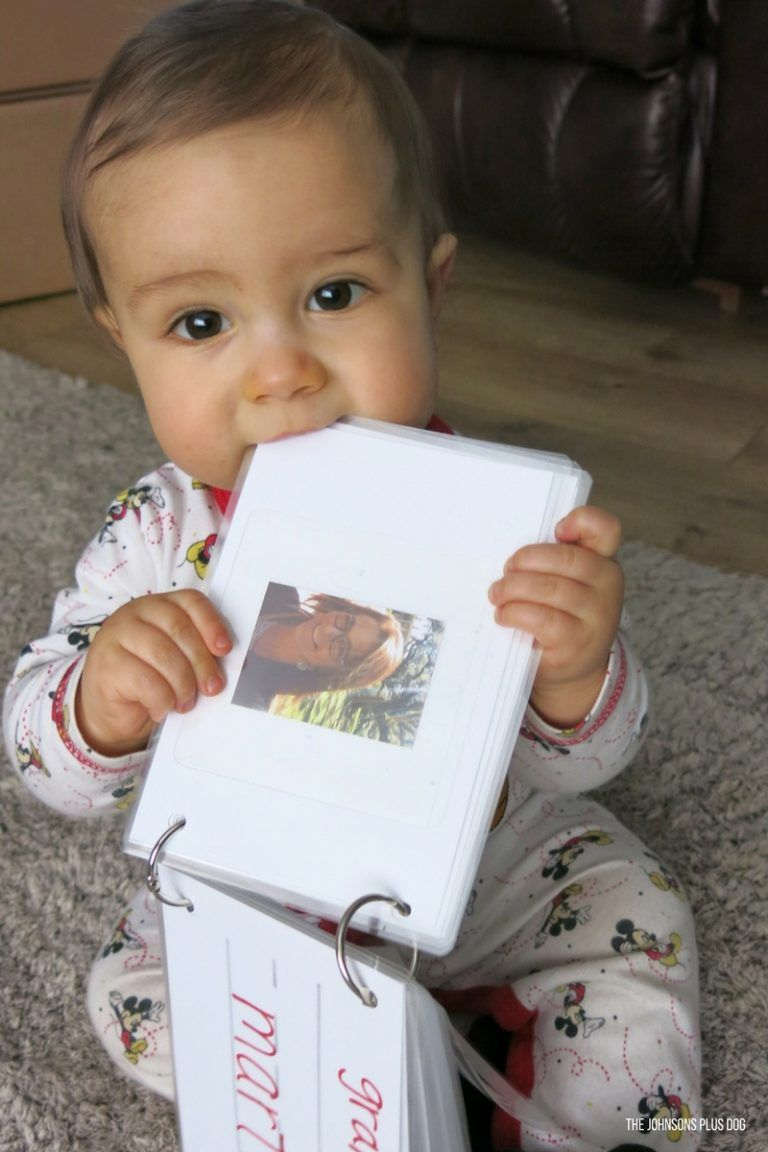 Family picture book for baby simple diy with laminator