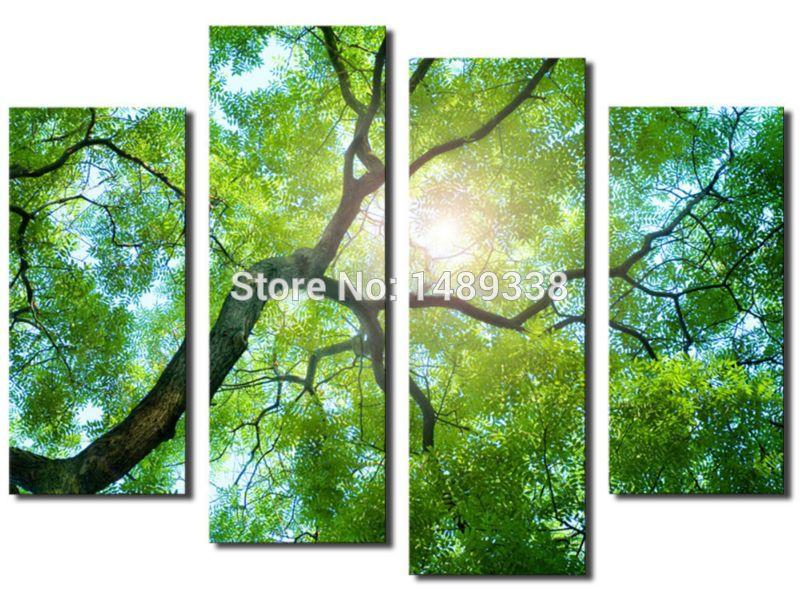 Comprar env o gratis 4 panel de pintura for Proveedores decoracion hogar