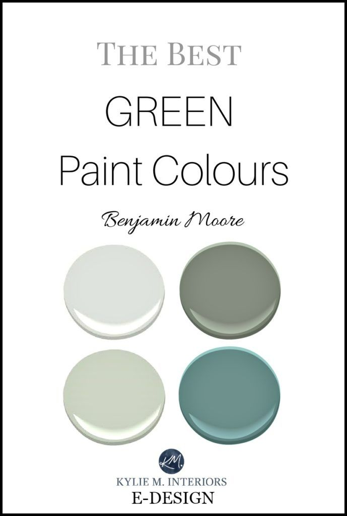 The Best Green And Blue Paint Colours By Benjamin Moore Kylie M E Design