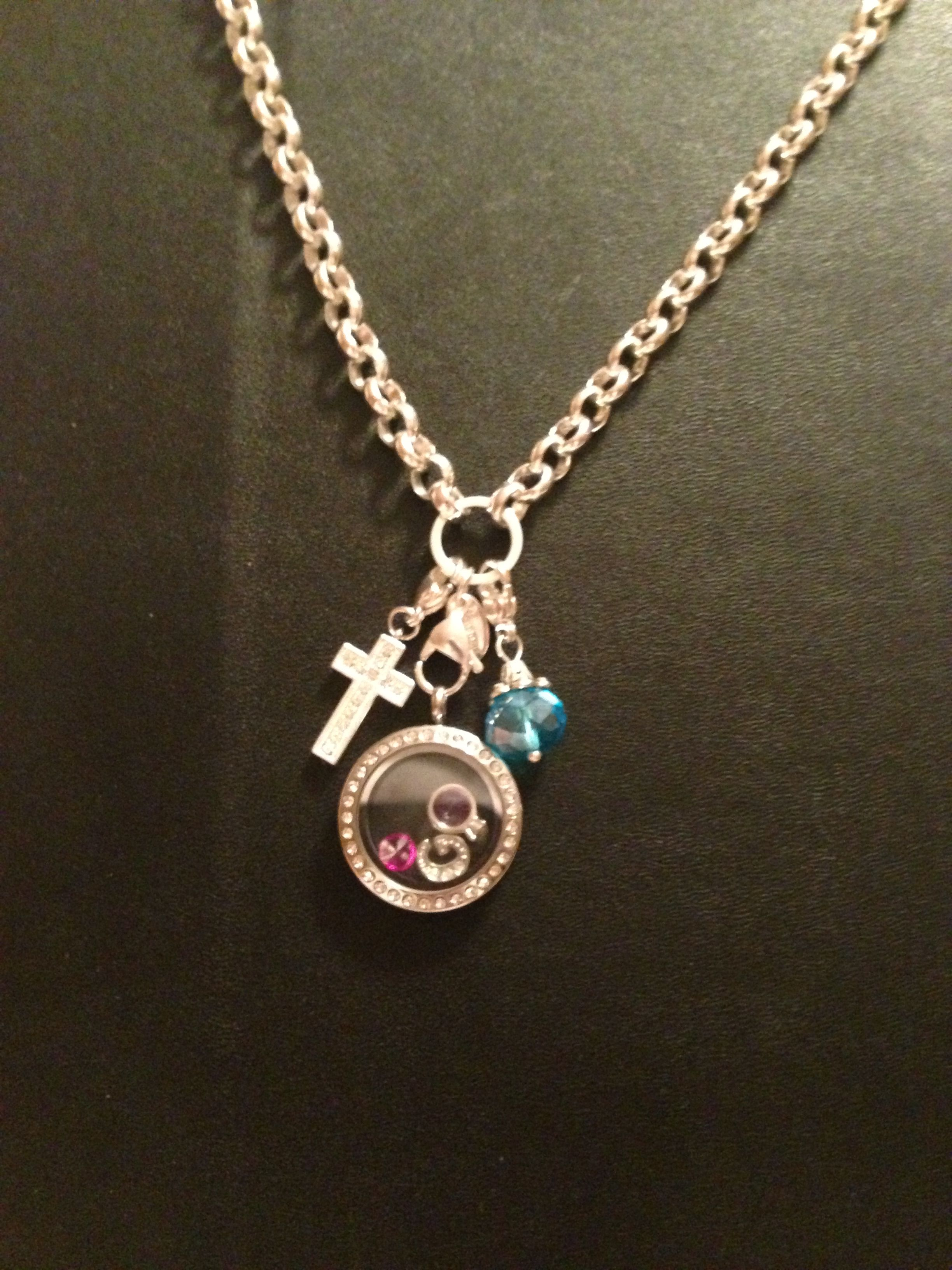 My origami owl necklace | OO | Pinterest - photo#11