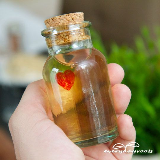 How to make a love potion perfume