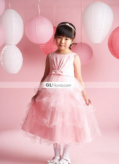 a7ce7b705 vestidos de color rosa para niñas   CHILDREN OUTFIT   Vestidos color ...