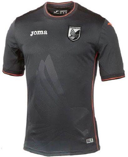 2c7bb747c3 Palermo unveil Joma 2014 15 Third kits Camisas De Futebol
