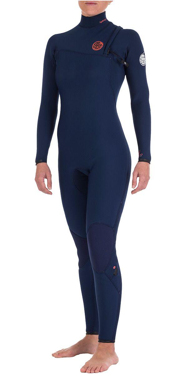 Rip Curl Womens G-bomb 4 3mm Gbs Zipperless Wetsuit Navy Wsm4ig - Wsm4ig -  - by Rip Curl - Rip Curl b1985e72a