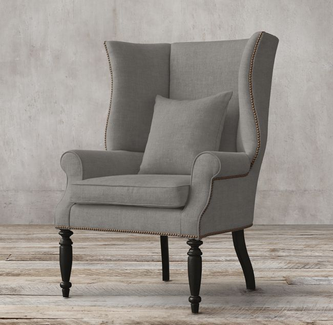 Hampshire Upholstered Wingback Chair Tran Pinterest Wingback