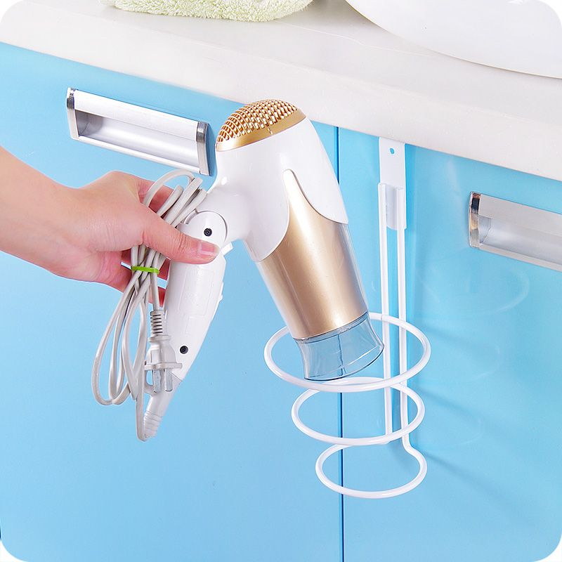 New Arrvialhigh Quality Hair Dryer Holder Hanger Organizer Door