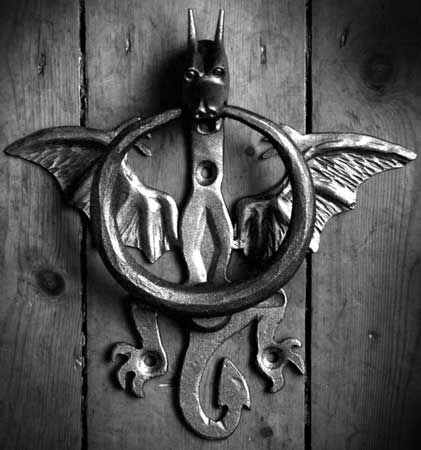 Flying Dragon door knocker
