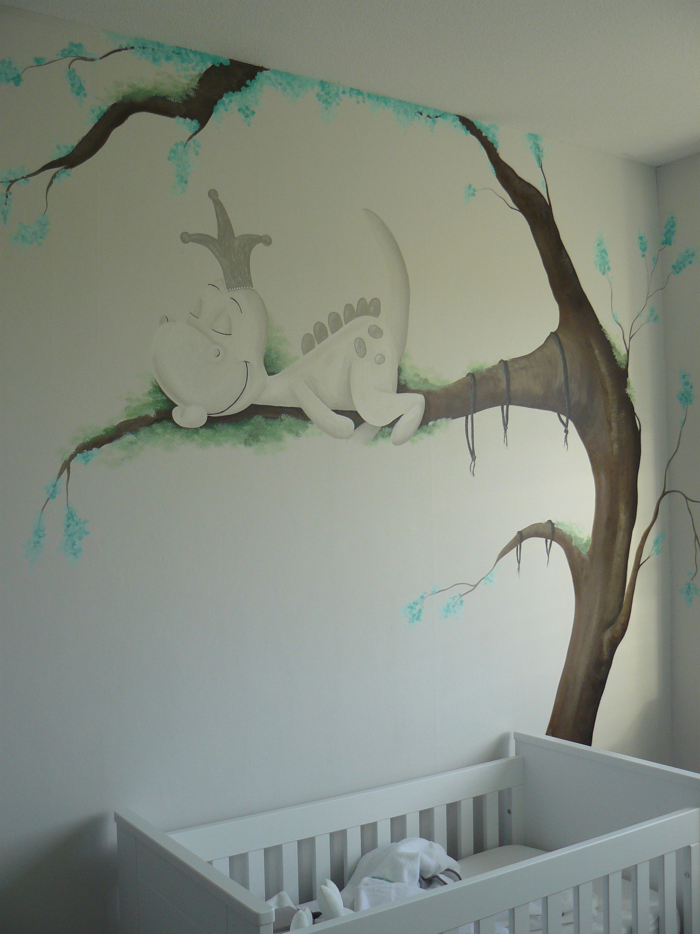 Babykamer Decoratie Boom.Pin Van Filiz Ertas Op Walls In 2019 Baby Bedroom Baby Cribs En