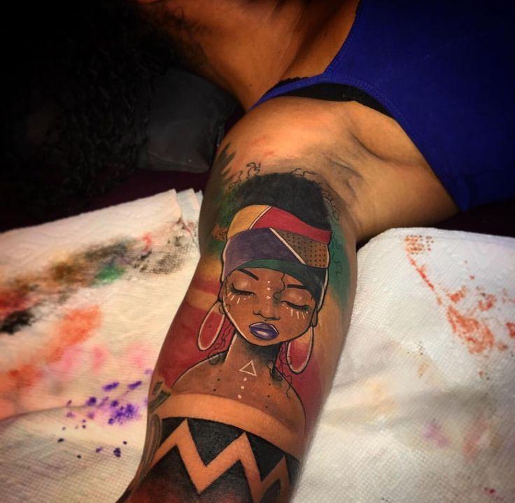 Black Girl Tattoo Ideas Only On Pinterest Dreads Black Women Black