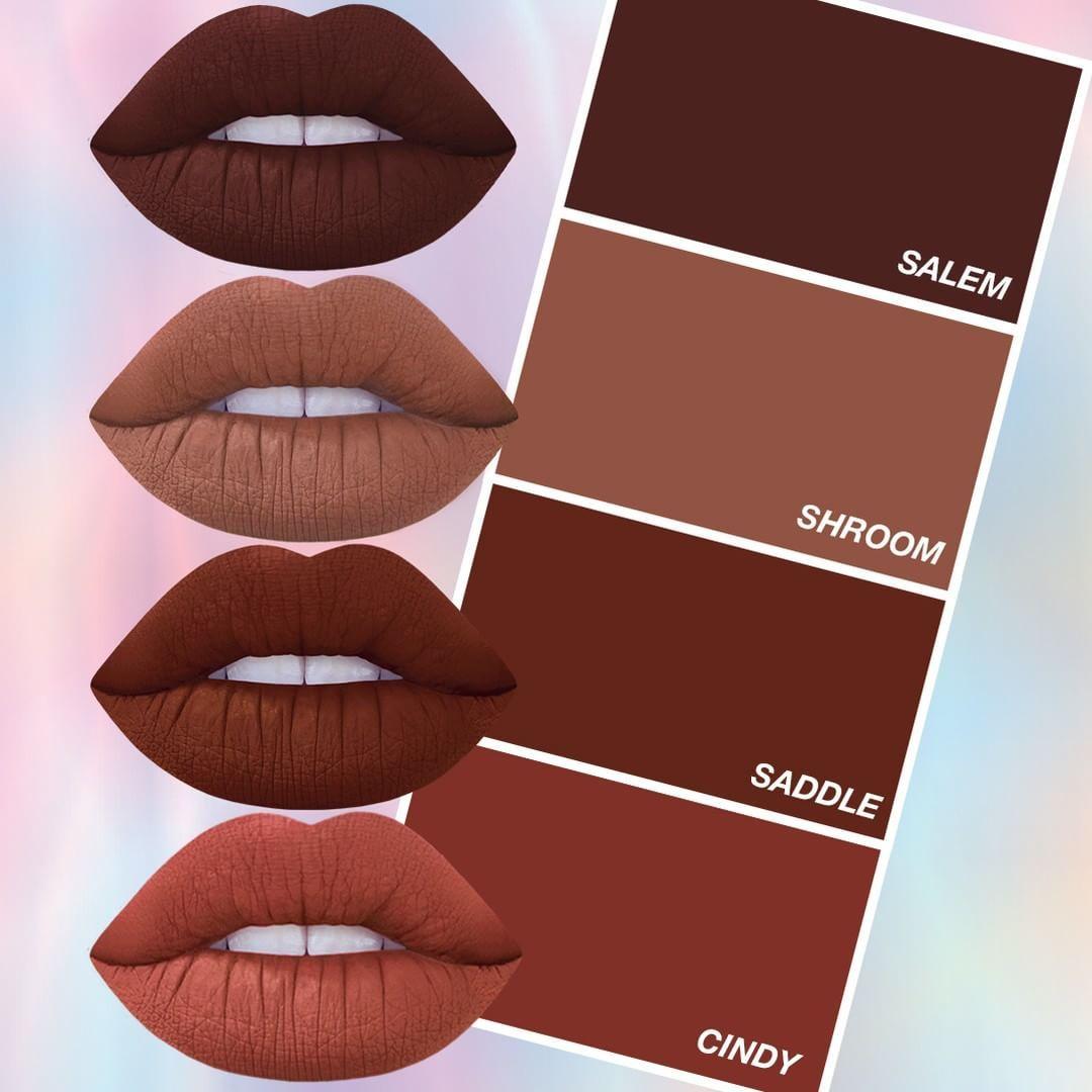 Browns Terracottas Are Your Jam We Ve Got You Babe Shop Velvetines Limecrime Com Lip Colors Lipstick Makeup Makeup