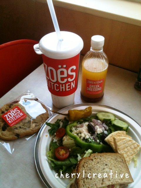Zoes Kitchen Chicken Salad Sandwich zoes kitchen, snider's plaza in university park, october 2012