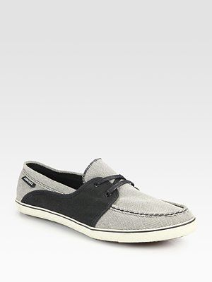 My next purchase....hmmm - Diesel Malory Boat Shoes