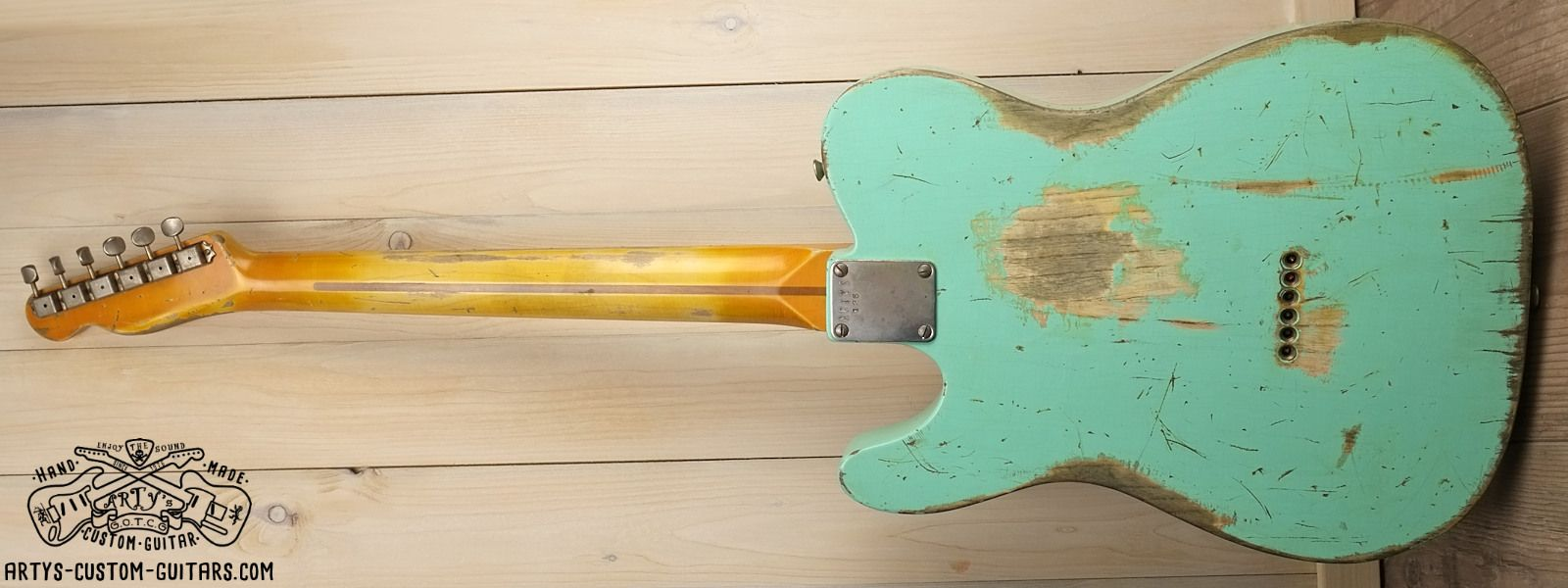 Telecaster Heavy Relic Body Artys Custom Guitars Shop Tele Relicing Fender Bass Wiring Diagram Aged Gallery Prewired Kit Harness Assembly Stratocaster P J Les Paul Jr