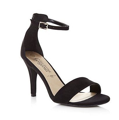 Home › women › Women Shoes › Black Ankle Strap Heel Sandals