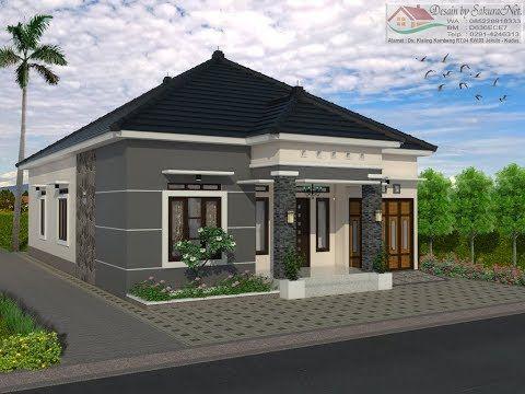 rumah minimalis lantai 1_modern house (10x15) - youtube