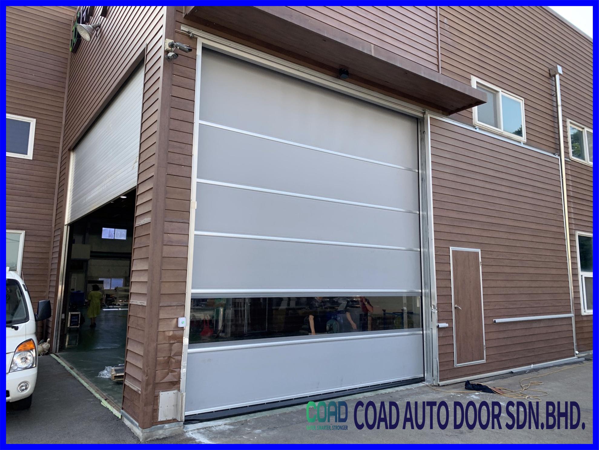 Coad High Speed Door Impact Strength In 2020 Doors Automatic Door Intelligent Design