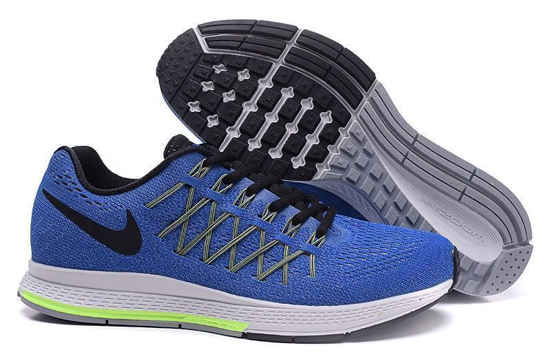 premium selection 15a4c 05b4a authentic mens nike zoom pegasus 32 green blue 11b7c 59422
