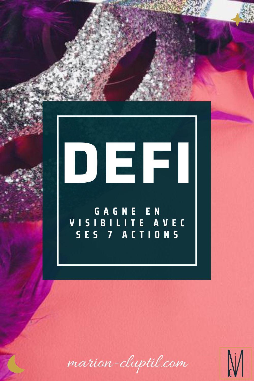 Defi 7 Jours Pour Gagner En Visibilite Grace Au Referencement Naturel En 2020 Strategie Marketing Marketing Marketing Digital