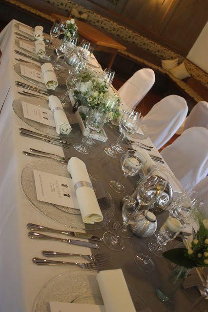 Tischdekoration Elegante Puristische Hochzeit In Creme Und