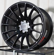 One 18x8.75 XXR 550 5x100 36 Flat Black Wheel fit FRS BRZ