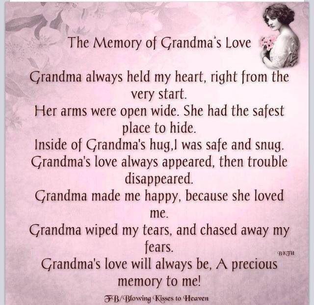 The Memory of Grandma's Love