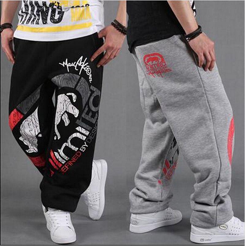 Click To Buy Fashion Men S Hip Hop Track Pants Skate Rap Parkour Loose Casual Boys Pants Pant New Man Clothing Sweat Suits Outfits Mens Hip Hop Clothing