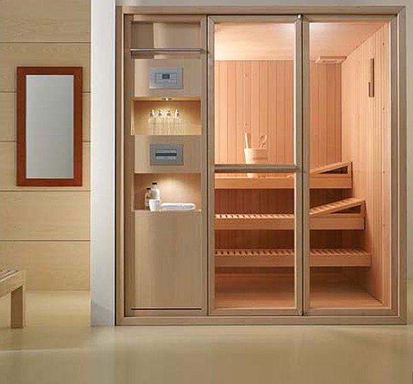 Indoor Home Sauna 5 Compact Home Saunas  Saunas Compact And Spa