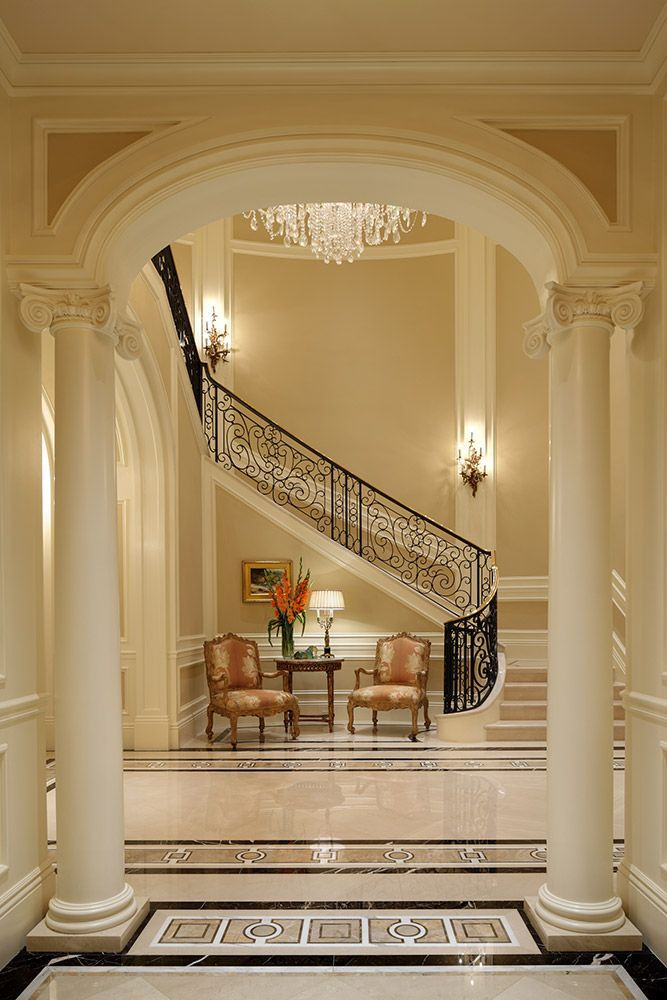 Best Georgian Foyer Beautiful Homes Inside Out In 2019 400 x 300