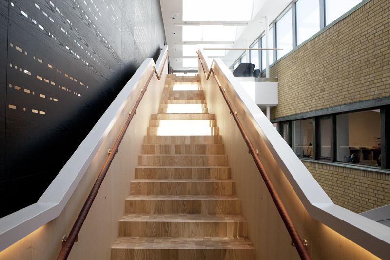 Stadsbiblioteket Göteborg Kubbgolv i ask