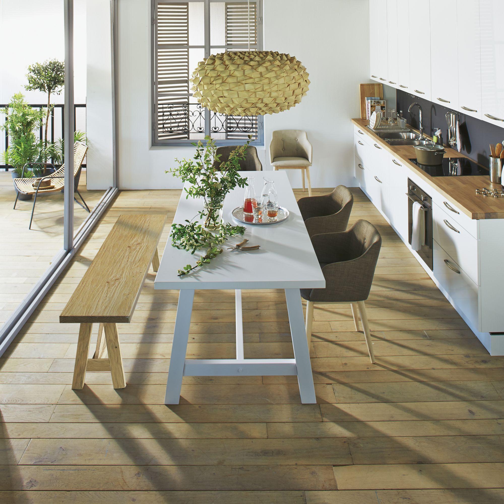 cuisine composer mod le type blanc rimini blanc les cuisines composer alin a meubles. Black Bedroom Furniture Sets. Home Design Ideas