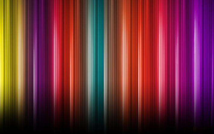 Herunterladen Hintergrundbild Linien Kreativ Regenbogen Bunte