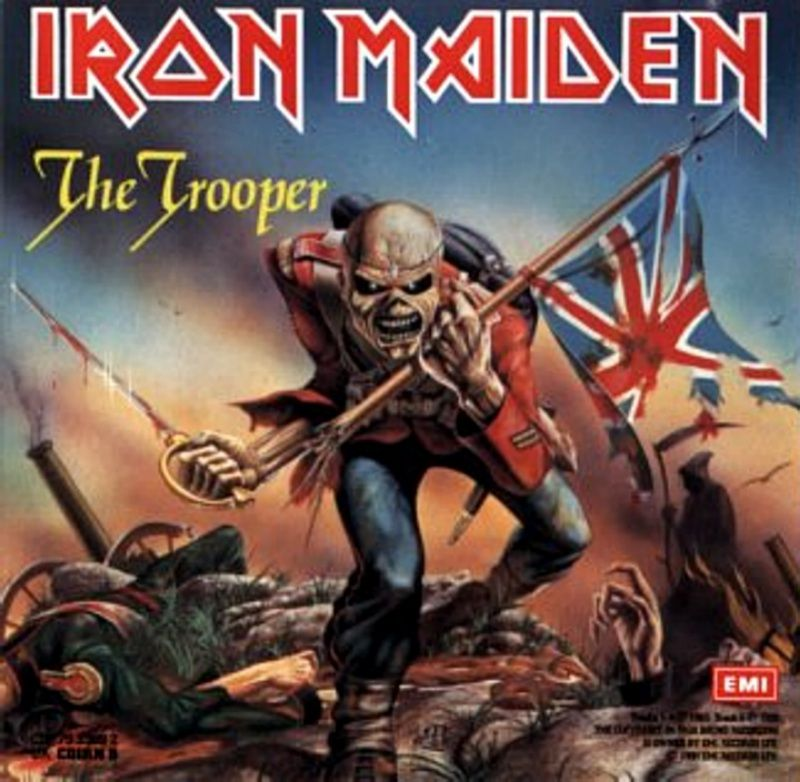 Pin By Chris Deguire On Things I 3 Iron Maiden Albums Iron Maiden Posters Iron Maiden The Trooper
