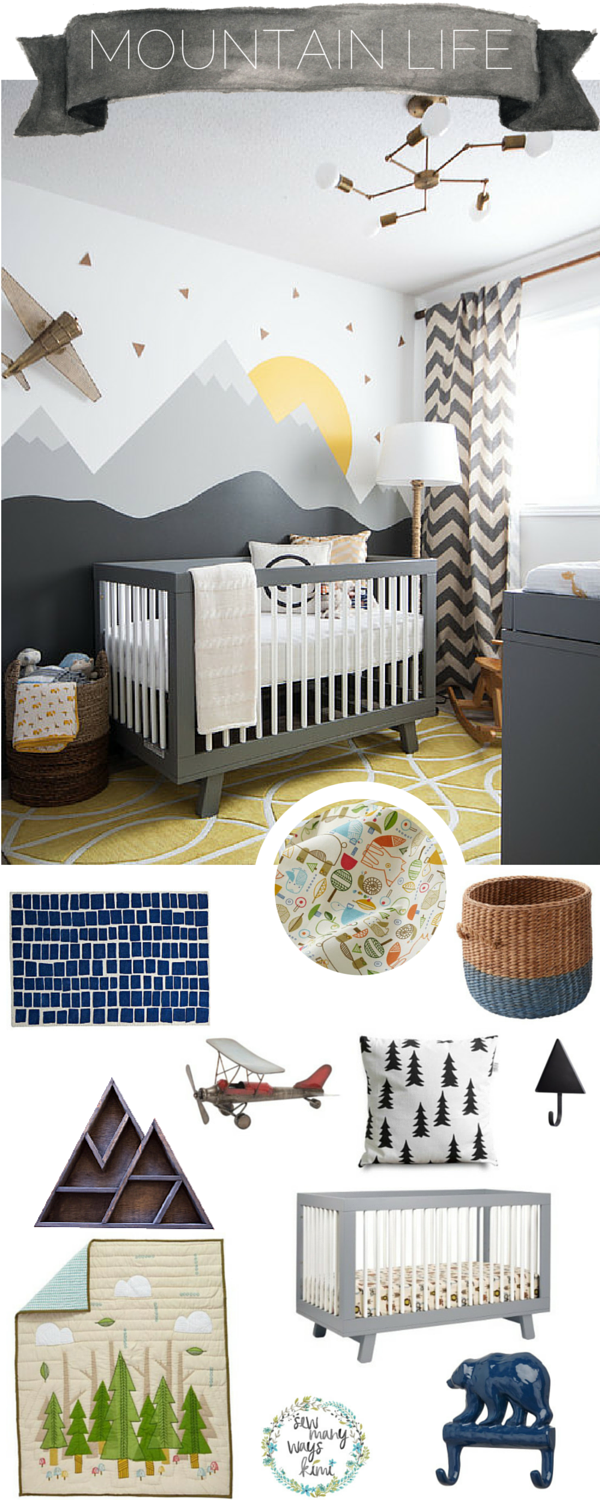 Toddler Boy Room Design: 25 Cute Baby Nursery Ideas That Are Sweet Yet Elegant