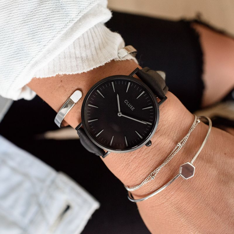 3b9c6b0016779e damski Cluse Full Black w 2019 | Modne zegarki | Zegarki damskie