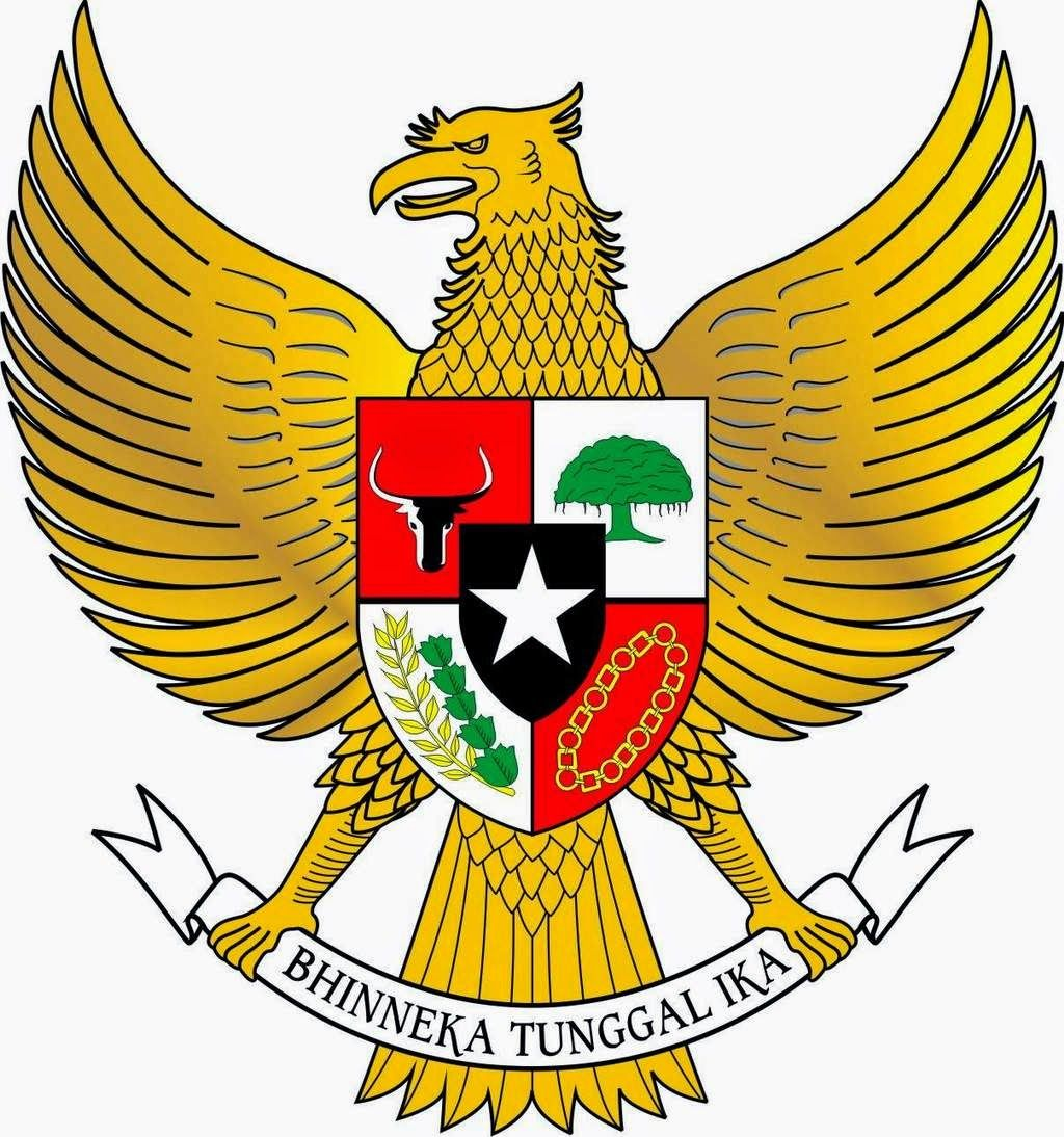 A Little Piece Of Indonesia Natinal Emblem Of Indonesia Vector Logo Design Eagle Pictures Vector Logo