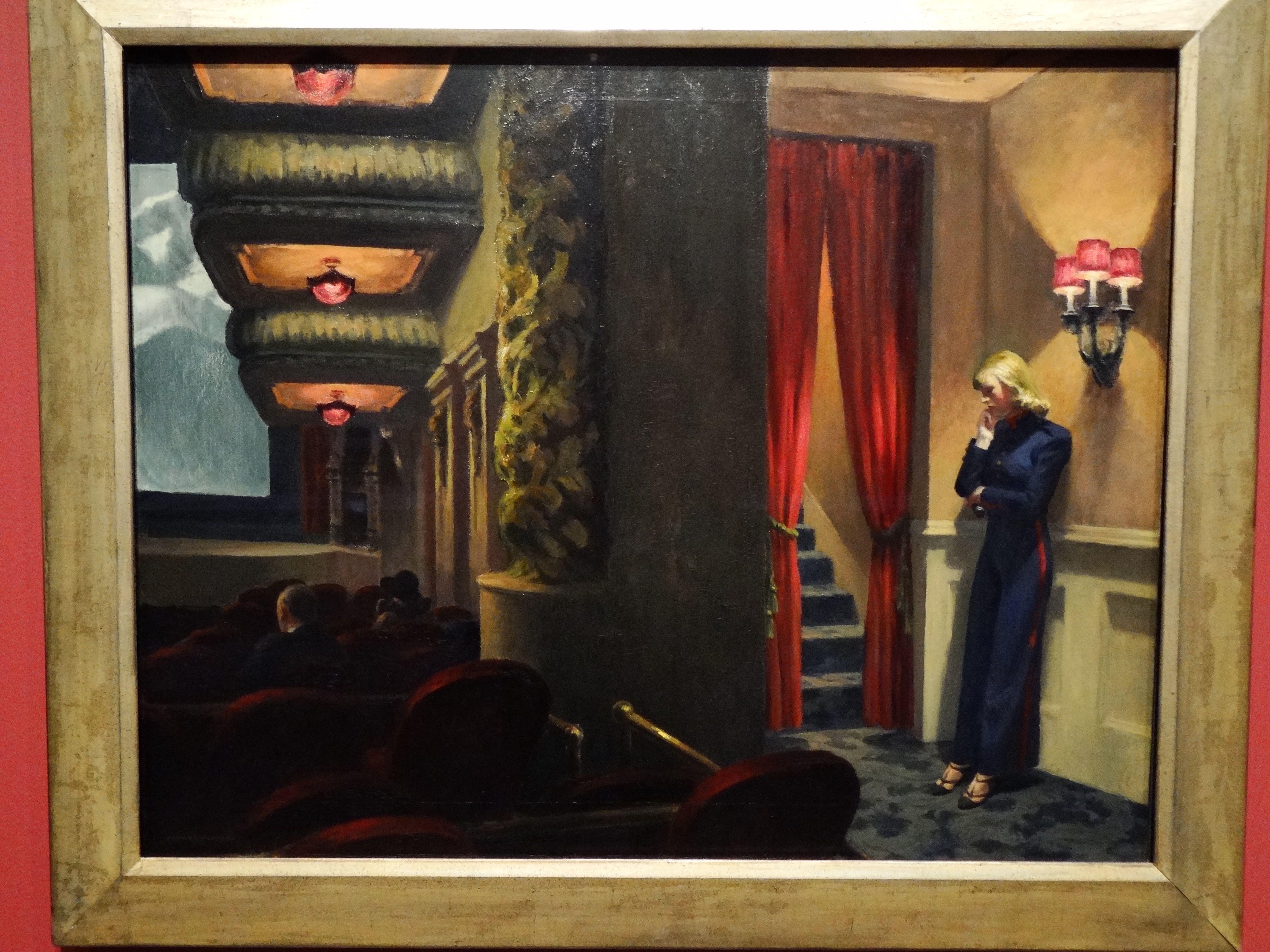 Edward Hopper, New York Movie 1939 Edward hopper