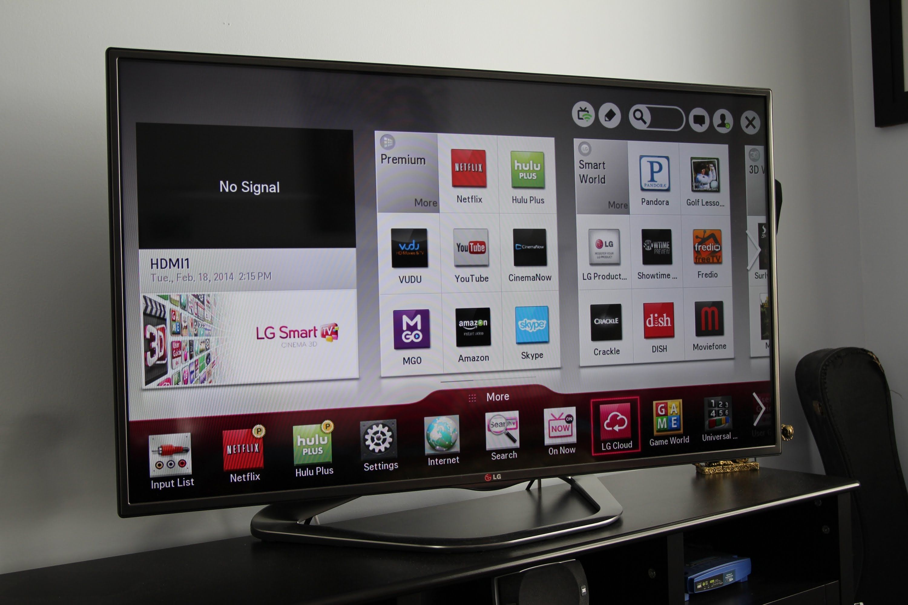 LG 3D Smart TV Features Demo LA6200 & LA6205 Series Tvs