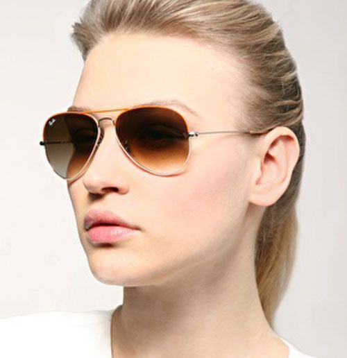 ladies ray ban aviator sunglasses  30+ Stylish and Elegant Womens Sunglasses - Style Arena