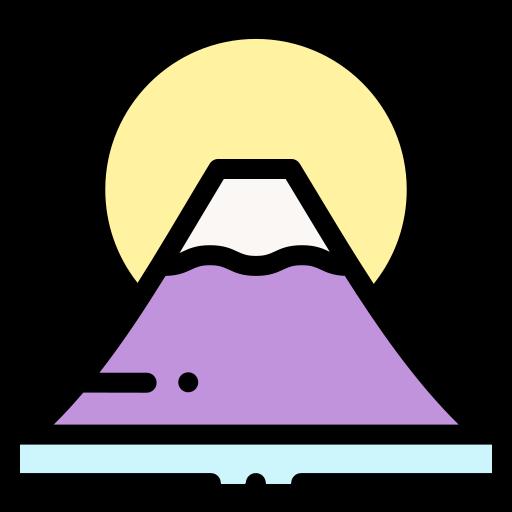 Fuji Mountain Free Icons Vector Icon Design Vector Free