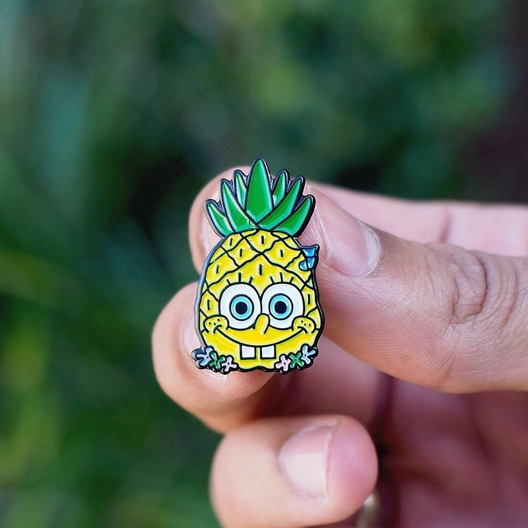 #Repost @thesundayco_  Are you kids? Ay ay Spongebob pins. This spongy little guy now really does live inside his pineapple house  Get your hands on them online available now! www.thesundayco.io    #thesundayco #spongebob #pin #pingame #spongebobsquarepants #pineapple #pinstagram #enamelpin #enamelpins #goldcoast    (Posted by https://bbllowwnn.com/) Tap the photo for purchase info.  Follow @bbllowwnn on Instagram for great pins patches and more!