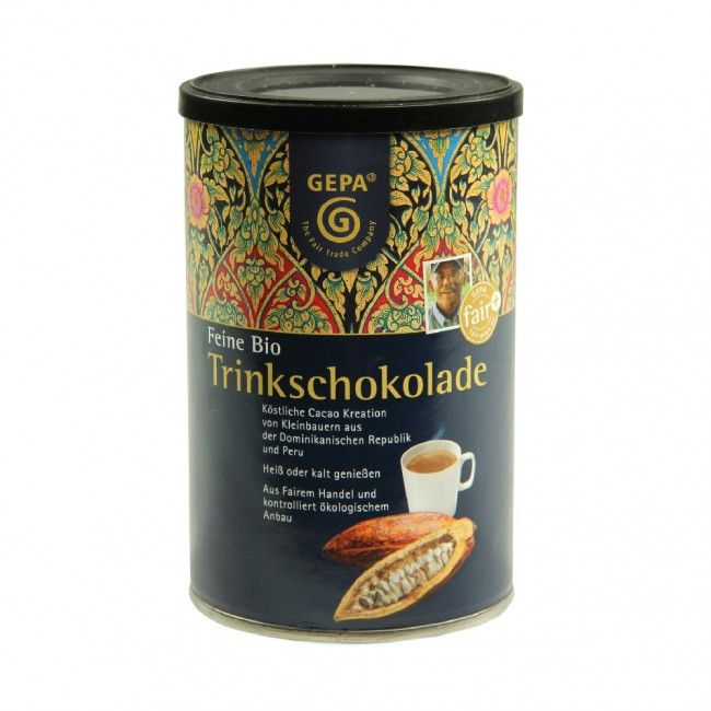 Feine Bio Trinkschokolade