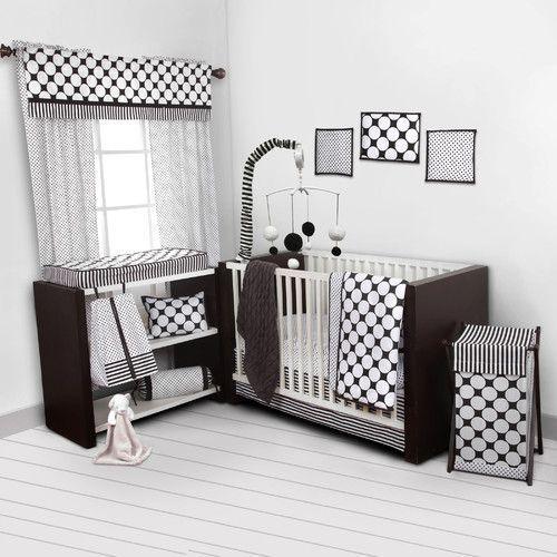 Found it at Wayfair - Dots/Pin Stripes 9 Piece Crib Bedding Set