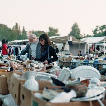 """Alba flea market - Alba, ItalyOne of the great """"discoveries"""" one can make while touring flea markets in Italy, is..."""