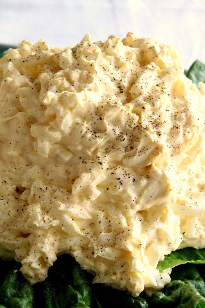 Secret Ingredient Super Creamy Egg Salad Kitchen Dreaming Recipe Egg Salad Recipe Egg Salad Food