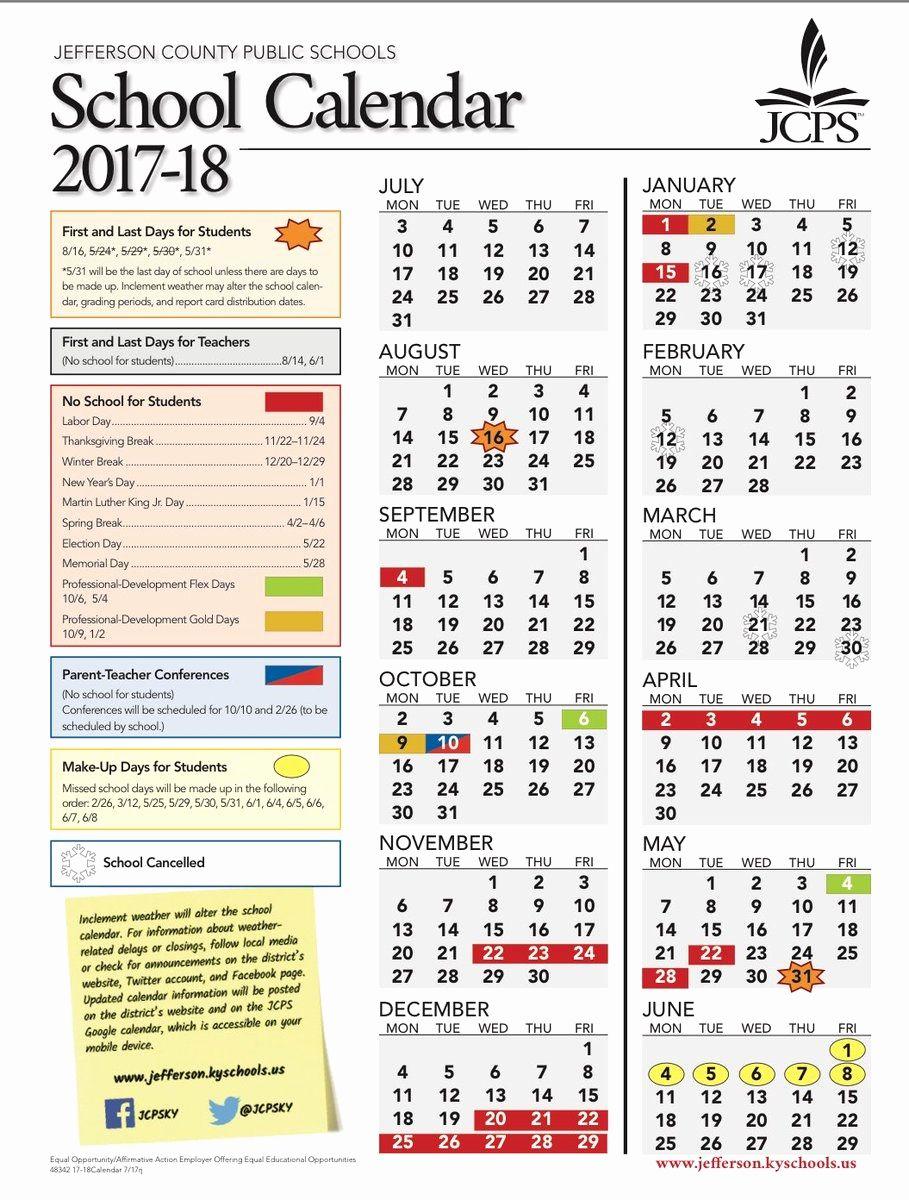 Jcps School Calendar 2021-2022 Lovely 49 Sample Jcps 2019 Calendar   School calendar, Personal