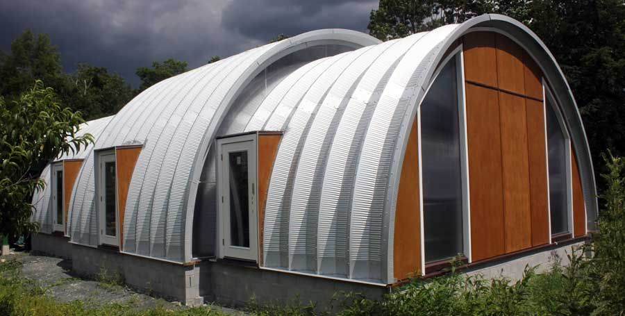 Photo Gallery (With images) Quonset hut homes, Quonset