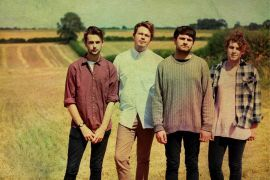 Lower Than Atlantis Their songs are unique and catchy  I love the lead singers voice