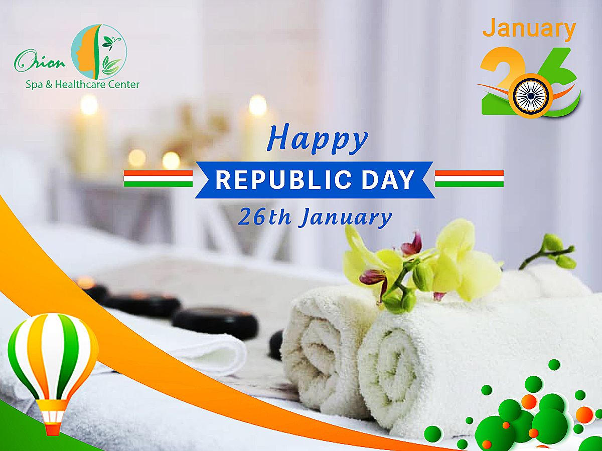 Happy Republic Day! in 2020 Best spa, Republic day, Body